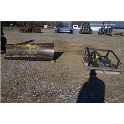 SNOW PLOW WITH MOUNTING KIT AND WEIGHTS