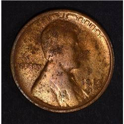 1914-D LINCOLN CENT, G/VG