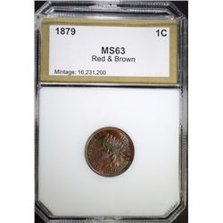 1879 INDIAN CENT, PCI CH BU RB