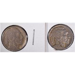 1915 & 1924 BUFFALO NICKELS
