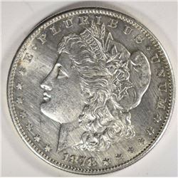 1878-S MORGAN DOLLAR CHBU CLEANED