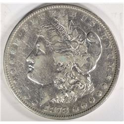 1878 7TF REV 79 MORGAN DOLLAR VF