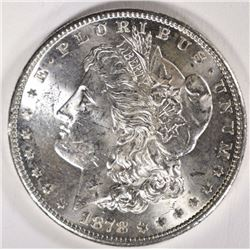 1878-S MORGAN DOLLAR CHOICE BU
