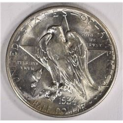 1934 TEXAS HALF DOLLAR COMMEM