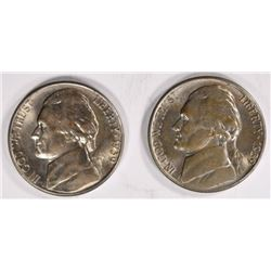 2 - 1939-S JEFFERSON NICKEL GEM BU
