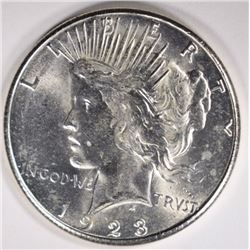 1923-S PEACE DOLLAR CHOICE BU