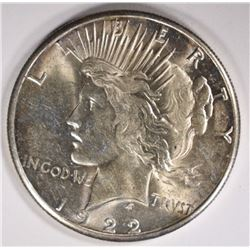 1922-S PEACE DOLLAR CHOICE BU++