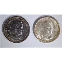 1893 COLUMBIAN 50c & 1950-S BOOKER