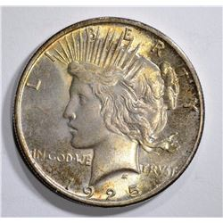 1925 PEACE DOLLAR CHOICE BU