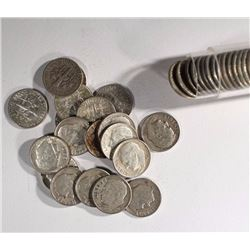 90% SILVER DIME ROLL - MIXED