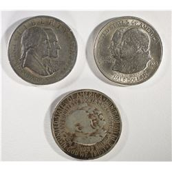 1926 SESQUI, 1952 W/C & 1923-S MONROE COMMEMS