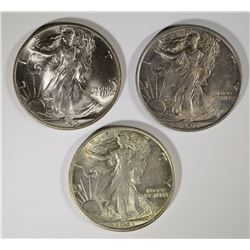 1943, 1943-S, 1945 WALKING LIBERTY