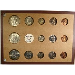 GEM BU SET of 1949 P-D-S; FRANKLINS,