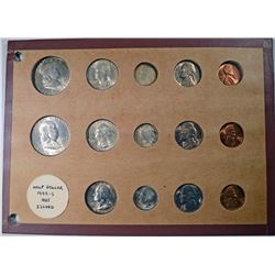 GEM BU SET of 1948 P-D-S; FRANKLINS,