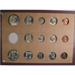 GEM BU SET of 1944 P-D-S; WALKERS