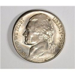 1939-S JEFFERSON NICKEL GEM BU