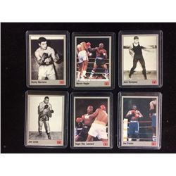 VINTAGE BOXING TRADING CARDS