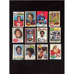 VINTAGE FOOTBALL TRADING CARDS LOT
