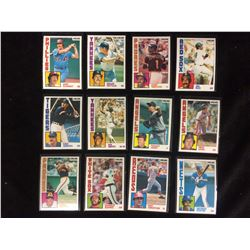 VINTAGE BASEBALL TRADING CARDS LOT