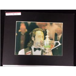 "RONNIE O'SULLIVAN AUTOGRAPHED 8"" X 10"" PHOTO (BILLIARDS PLAYER)"
