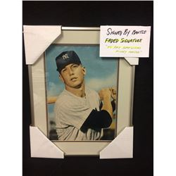 "MICKEY MANTLE AUTOGRAPHED 12"" X 14"" FRAMED PHOTO"