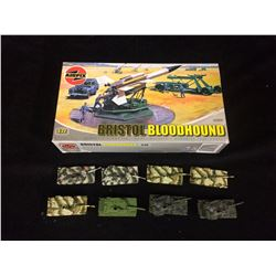 Airfix Bristol Bloodhound MODEL KIT (1/72 Scale) PLUS MINI TANKS