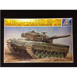 ITALERI 1:35 SCALE LEOPARD 2 MAIN BATTLE TANK MODEL KIT (IN BOX)