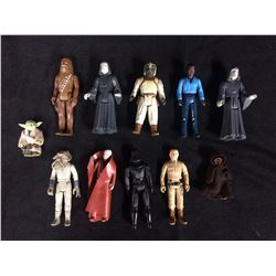 STAR WARS ACTION FIGURE LOT (NO WEAPONS) LATE 70'S/ EARLY 80'S