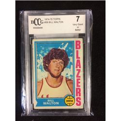 1974-75 TOPPS #39 BILL WALTON (7 VG OR BETTER) BECKETT