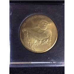 "BABE RUTH ""THE SULTAN OF SWAT"" COIN"