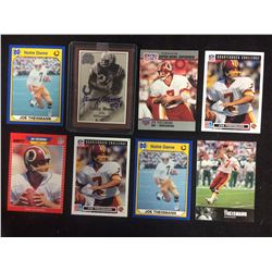 JOE THEISMAN FOOTBALL TRADING CARDS LOT
