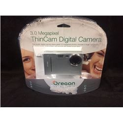 OREGON 3.0 MEGAPIXEL THIN CAM DIGITAL CAMERA W/ BOX
