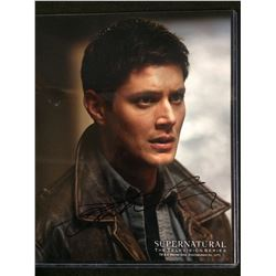 "JENSEN ACKLES AUTOGRAPHED 8"" X 10"" PHOTO W/ COA (SUPERNATURAL TV SERIES)"