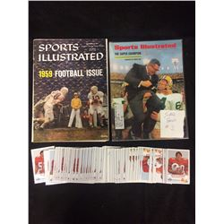 VINTAGE SPORTS ILLUSTRATED MAGAZINE LOT