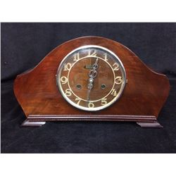 VINTAGE BERTMAN MANTLE CLOCK W/ KEY