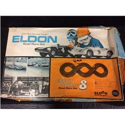 ELDON ROAD RACE SET W/ BOX (CIRCUIT DOUBLE 8)