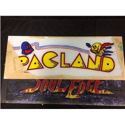 ARCADE GAME GLASS (PACLAND, SOUL EDGE)