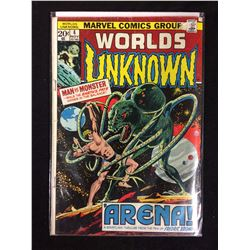 WORLDS UNKNOWN #4 (MARVEL COMICS)