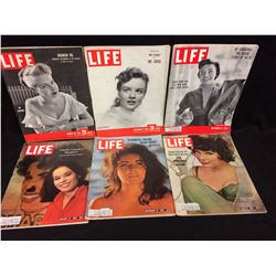 VINTAGE LIFE MAGAZINE LOT (ARABIAN OIL, ELIZABETH TAYLOR & MORE)