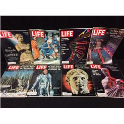 VINTAGE LIFE MAGAZINE LOT (THE NEW ASTRONAUTS, MIRACLE OF GREECE & MORE)