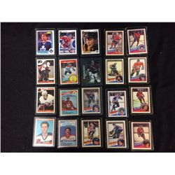 NHL HOCKEY ROOKIES & STARS CARDS LOT (CLARK, LANGWAY, BOSSY & MORE)