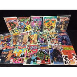 THE NEW MUTANTS COMIC BOOK LOT