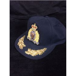 Vintage Royal Canadian Mounted Police Hat Cap RCMP Snapback Maintiens Le Droit