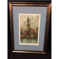 "FRAMED WALL ART ""AMSTERDAM"""