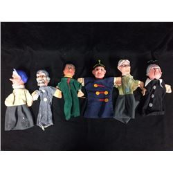 MR. ROGERS NEIGHBOURHOOD HAND PUPPETS LOT