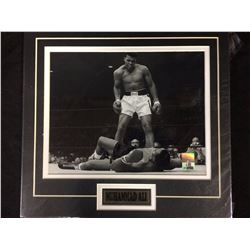 "MUHAMMAD ALI  8"" X 10"" MATTED PHOTO"