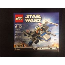 STAR WARS LEGO RESISTANCE X-WING FIGHTER SERIES 3 (IN SEALED BOX)