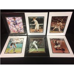 "BASEBALL 8"" X 10"" MATTED PHOTO LOT"