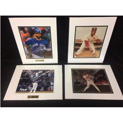"BASEBALL 8"" X 10"" MATTED PHOTO LOT (JOSE BAUTISTA BAT FLIP)"