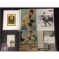 "AUTOGRAPHED BASEBALL 8"" X 10"" PHOTOS LOT"